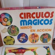 Juegos de mesa: CÍRCULOS MÁGICOS, NIÑOS EN ACCIÓN, DE FOURNIER. Lote 140915690