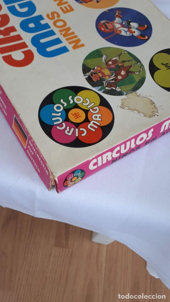 Juegos de mesa: CÍRCULOS MÁGICOS, NIÑOS EN ACCIÓN, DE FOURNIER - Foto 6 - 140915690