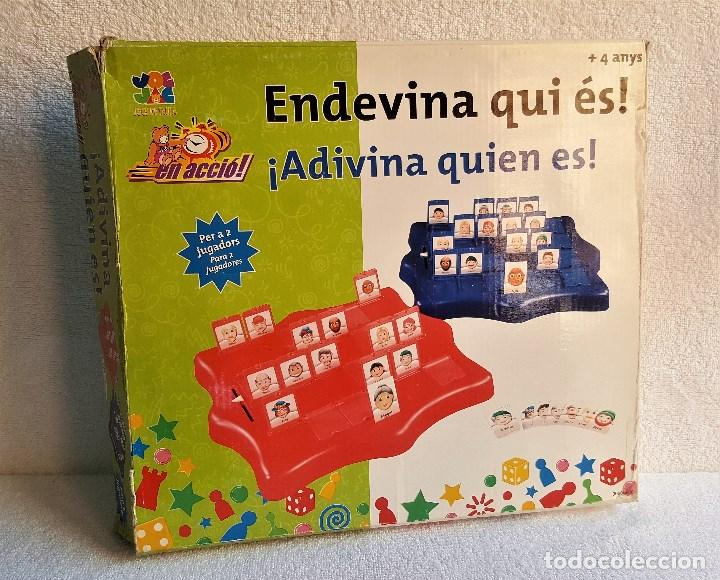 Juego De Mesa Adivina Quien Es 24 Fichas Co Comprar Juegos De
