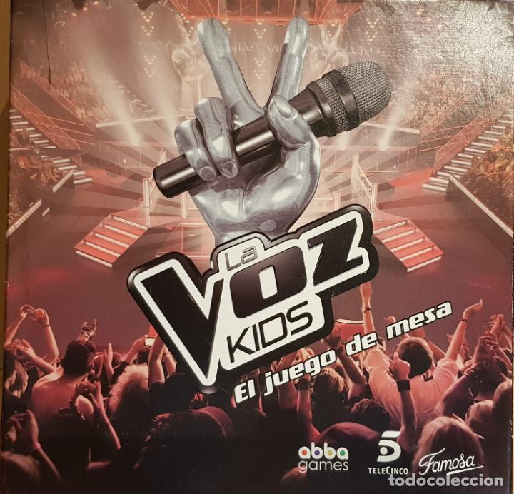 LA VOZ KIDS / EL JUEGO DE MESA / DE FAMOSA / COMPLETO Y COMO NUEVO. / OCASIÓN. (Juguetes - Juegos - Juegos de Mesa)