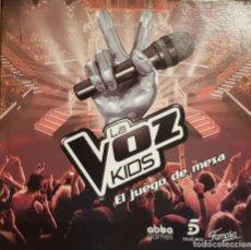 Juegos de mesa: LA VOZ KIDS / EL JUEGO DE MESA / DE FAMOSA / COMPLETO Y COMO NUEVO. / OCASIÓN.. Lote 141327278