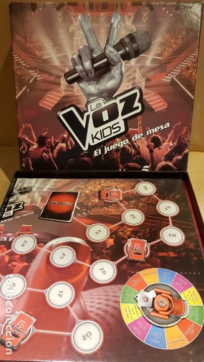 Juegos de mesa: LA VOZ KIDS / EL JUEGO DE MESA / DE FAMOSA / COMPLETO Y COMO NUEVO. / OCASIÓN. - Foto 6 - 141327278