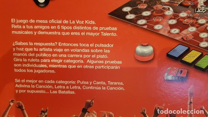 Juegos de mesa: LA VOZ KIDS / EL JUEGO DE MESA / DE FAMOSA / COMPLETO Y COMO NUEVO. / OCASIÓN. - Foto 8 - 141327278