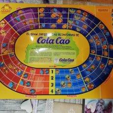 Juegos de mesa: TABLERO OLIMPIADAS COLA CAO. Lote 141494702