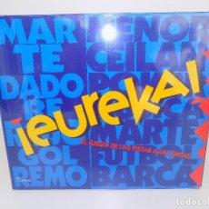 Juegos de mesa: EUREKA!. MARCA MATTEL. ORIGINAL AÑOS 80/90. NUEVO, A ESTRENAR!. Lote 141545422