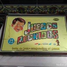 Juegos de mesa: JUEGOS REUNIDOS GEYPER 25. Lote 141546142