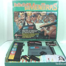 Juegos de mesa: COMPLETO - DETECTOR DE MENTIRAS MATTEL 1989 REF.5355 -ANTIGUO JUEGO DE MESA. Lote 141646362