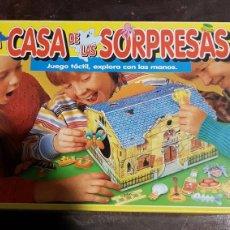 Juegos de mesa: JUEGO INFANTIL LA CASA DE LAS SORPRESAS EDUCA. Lote 103046679