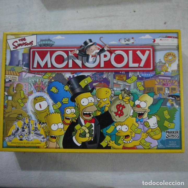 Monopoly The Sympsons Parker Comprar Juegos De Mesa Antiguos En