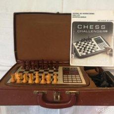 Juegos de mesa: ANTIGUO AJEDREZ ELECTRÓNICO CHALLENGER 10 . Lote 141912550