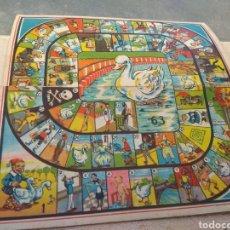 Juegos de mesa: TABLERO JUEGO DE LA OCA JUEGOS REUNIDOS. Lote 141926166