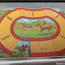 Juegos de mesa: TABLERO CARRERA DE CABALLOS JUEGOS REUNIDOS. Lote 141926764