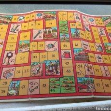 Juegos de mesa: TABLERO CARRERA DE COCHES JUEGOS REUNIDOS. Lote 141927585
