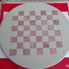 Juegos de mesa: TABLERO DE AJEDREZ DE PIEDRA AFRICANO. Lote 142037202