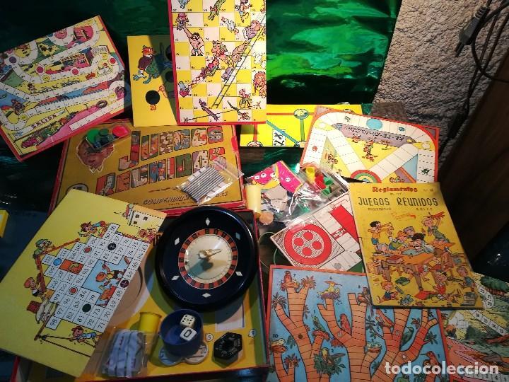 Juegos Reunidos Geyper Antiguo Y Con Sus Instr Comprar Juegos De