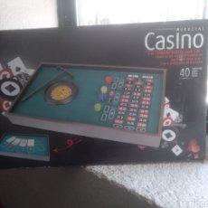 Juegos de mesa: JUEGO CASINO Y BLACK JACK COMPLETO SIN USO. Lote 142271888