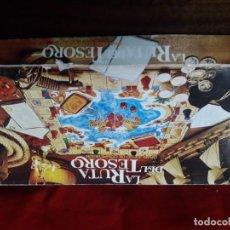 Juegos de mesa: LA RUTA DEL TESORO CEFA AÑOS 80 EDICIÓN LUJO. Lote 142454586