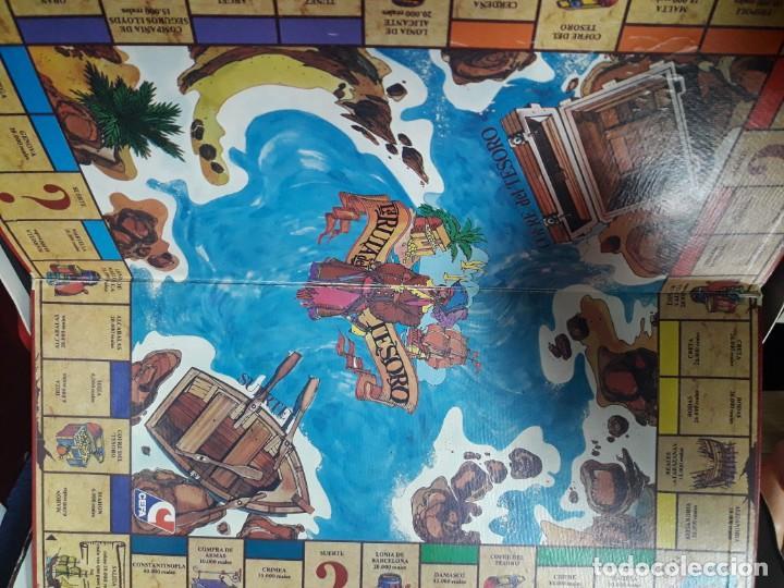 Juegos de mesa: La ruta del tesoro cefa años 80 edición lujo - Foto 3 - 142454586