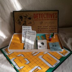 Juegos de mesa: DETECTIVES EL CASO TODOOJOS JUEGO MESA CRONE FRANCISCO ROSELLÓ AÑOS 50 POLICÍACO. Lote 142570250