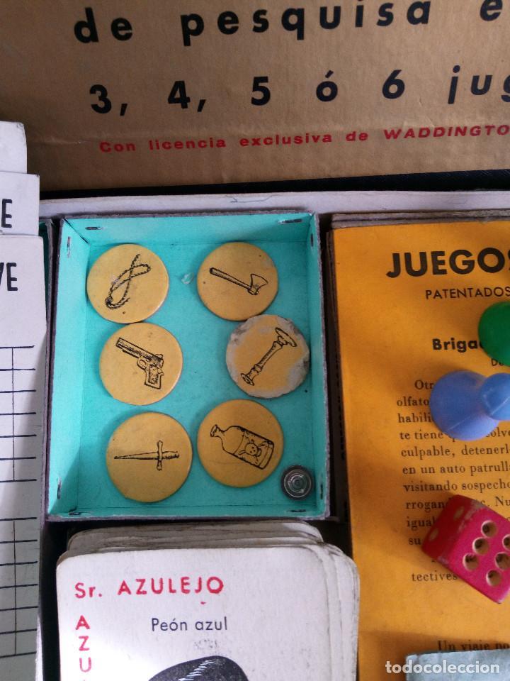 Juegos de mesa: DETECTIVES EL CASO TODOOJOS JUEGO MESA CRONE FRANCISCO ROSELLÓ AÑOS 50 POLICÍACO - Foto 3 - 142570250