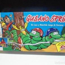 Juegos de mesa: GUSANO SPRINT - MB JUEGOS 1994 - JUEGO DE MESA DE CARRERAS COMPLETO - NUEVO PRECINTADO. Lote 142585766