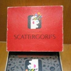 Juegos de mesa: JUEGO DE MESA SCATERGORIES DE MB. Lote 142592630