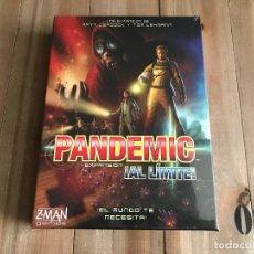 Juegos de mesa: JUEGO DE MESA PANDEMIC EXPANSIÓN AL LIMITE! - Z-MAN GAMES - EDICIÓN EN ESPAÑOL - PRECINTADO. Lote 142625510