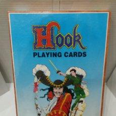 Jogos de mesa: HOOK PLAYING CARDS. FALOMIR. NUEVO EN CAJA. PRECINTADO. 1992. JUEGO.. Lote 142738546