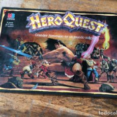 Board Games: HEROQUEST HERO QUEST GRANDES AVENTURAS EN UN MUNDO MAGICO MB (J-1). Lote 142755486