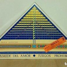 Juegos de mesa: PIRAMIDE DEL AMOR - JUEGOS PROHIBIDOS - NIVEL 2.. Lote 173623322
