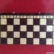 Juegos de mesa: AJEDREZ DE MADERA. Lote 142870650