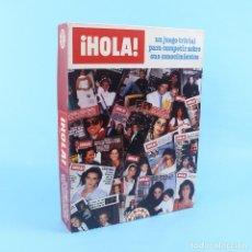 Juegos de mesa: TRIVIAL DE LA REVISTA ¡HOLA! AÑOS 80. Lote 142924254