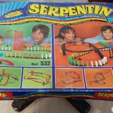 Juegos de mesa: JUEGO SERPENTIN DOMINO. Lote 142995765