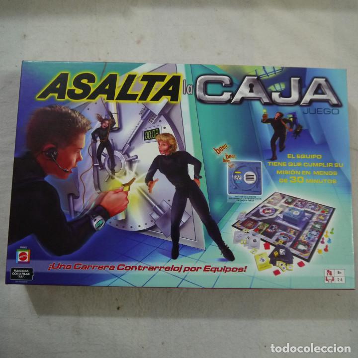ASALTA LA CAJA - MATTEL - 2003 (Juguetes - Juegos - Juegos de Mesa)