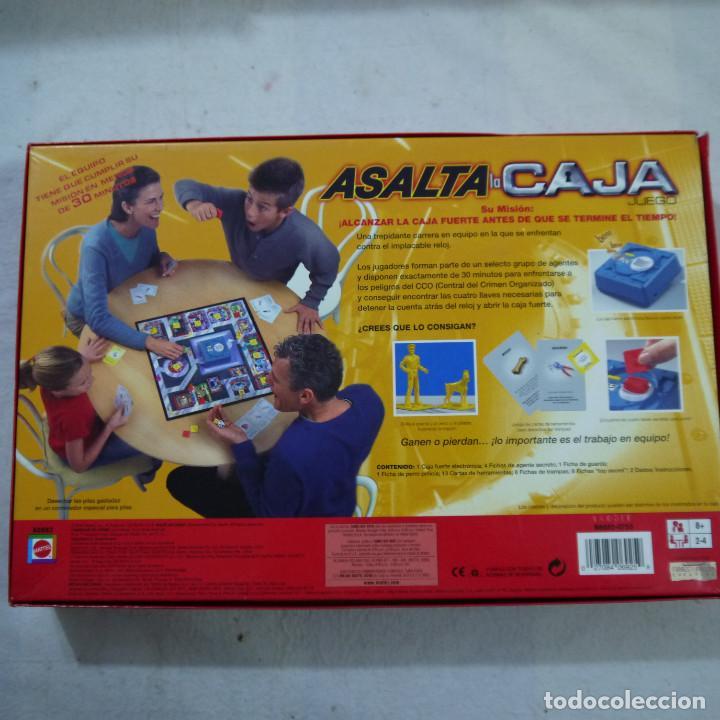 Juegos de mesa: ASALTA LA CAJA - MATTEL - 2003 - Foto 2 - 155992148