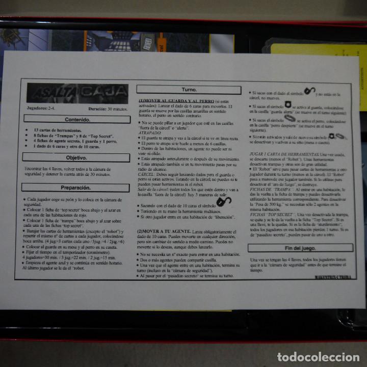 Juegos de mesa: ASALTA LA CAJA - MATTEL - 2003 - Foto 4 - 155992148