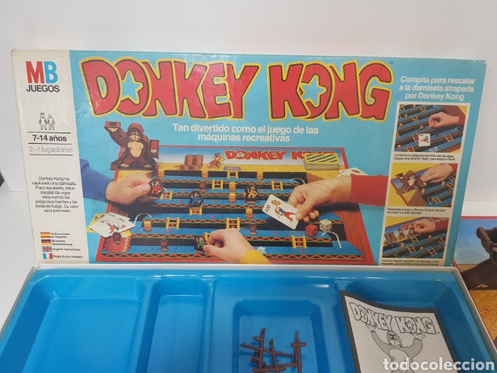 Donkey Kong Mb Juegos Juego De Mesa Conse Comprar Juegos De