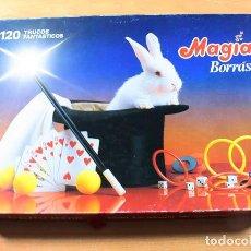Juegos de mesa: JUEGO DE MESA MAGIA BORRAS 120 TRUCOS FANTASTICOS REF 8512 INCOMPLETO, BUEN ESTADO, VER IMAGENES. Lote 143300210