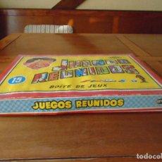Juegos de mesa: ANTIGUA CAJA DE JUEGOS REUNIDOS JEYPER COMPLETA. Lote 143312006