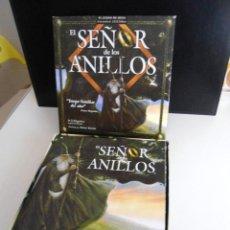 Juegos de mesa: EL SEÑOR DE LOS ANILLOS - JUEGO DE MESA COMPLETO - DEVIR 2000 - EXCELENTE ESTADO SIN USO. Lote 143467614