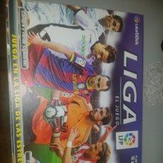 Juegos de mesa: LIGA BBVA EL JUEGO BORRAS - COMPLETO!. Lote 143609050