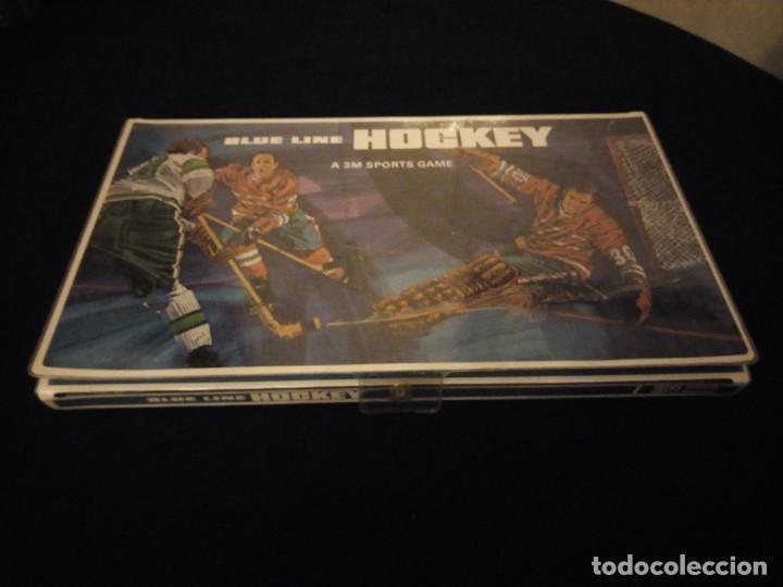 BLUE LINE HOCKEY A 3 M SPORTS GAME,1969 (Juguetes - Juegos - Juegos de Mesa)
