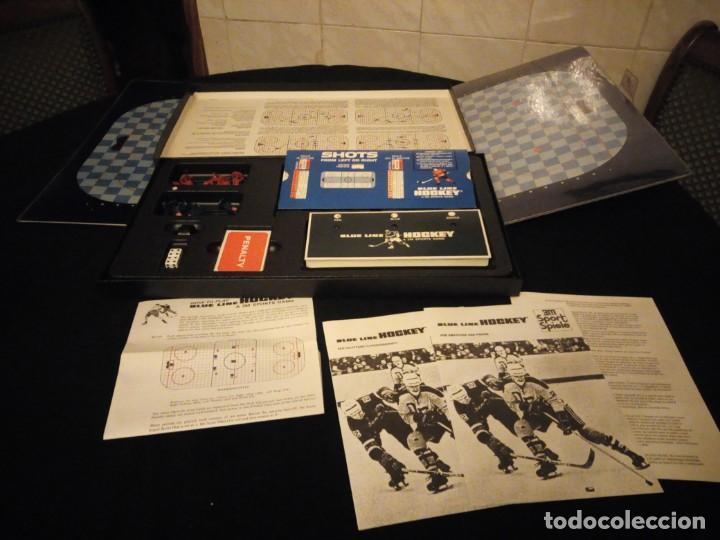 Juegos de mesa: blue line hockey a 3 m sports game,1969 - Foto 4 - 143630294