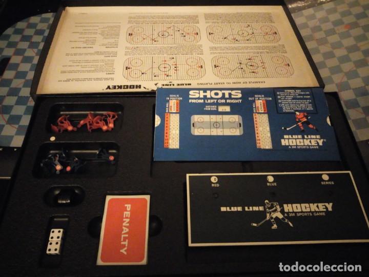 Juegos de mesa: blue line hockey a 3 m sports game,1969 - Foto 5 - 143630294