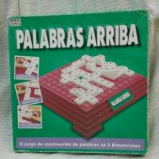 Juegos de mesa: PALABRAS ARRIBA, JUEGO DE CONSTRUCCIÓN, PARKER. Lote 143660629