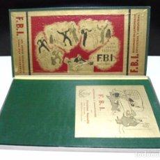 Juegos de mesa: FBI UN JUEGO TACTICO - FRANCISCO ROSSELLO - JUEGOS CRONE AÑOS 50 - JUEGO DE MESA F.B.I. COMPLETO. Lote 143664550