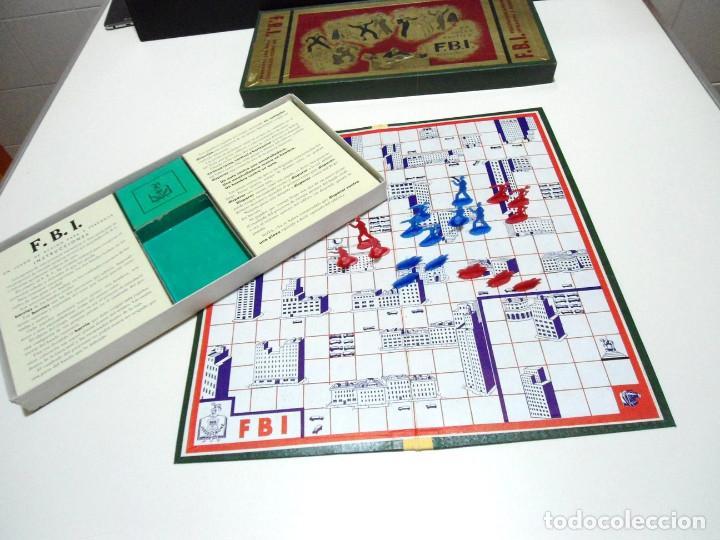 Juegos de mesa: FBI UN JUEGO TACTICO - FRANCISCO ROSSELLO - JUEGOS CRONE AÑOS 50 - JUEGO DE MESA F.B.I. COMPLETO - Foto 2 - 143664550