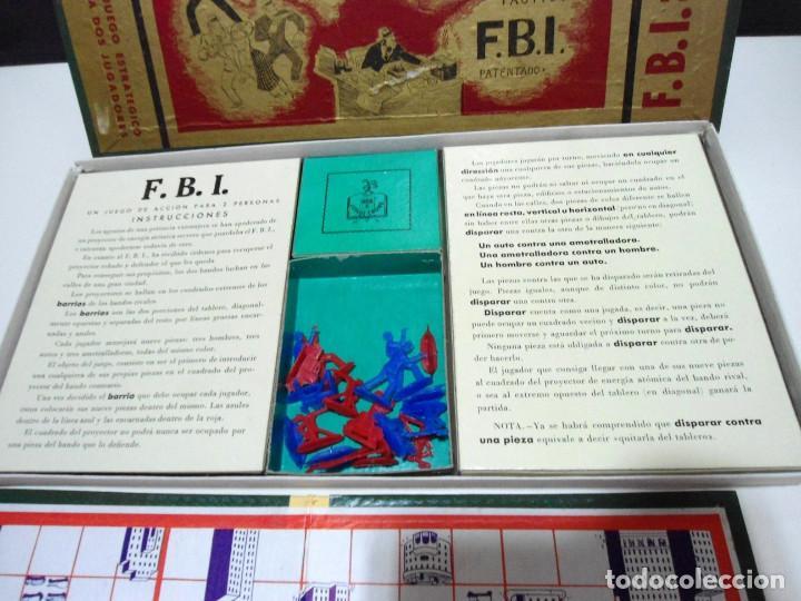 Juegos de mesa: FBI UN JUEGO TACTICO - FRANCISCO ROSSELLO - JUEGOS CRONE AÑOS 50 - JUEGO DE MESA F.B.I. COMPLETO - Foto 5 - 143664550