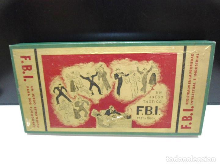 Juegos de mesa: FBI UN JUEGO TACTICO - FRANCISCO ROSSELLO - JUEGOS CRONE AÑOS 50 - JUEGO DE MESA F.B.I. COMPLETO - Foto 7 - 143664550