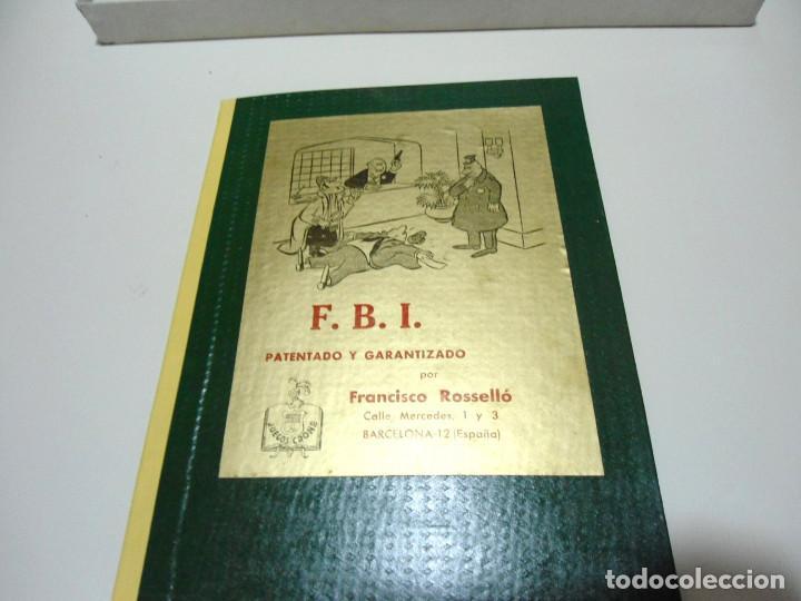 Juegos de mesa: FBI UN JUEGO TACTICO - FRANCISCO ROSSELLO - JUEGOS CRONE AÑOS 50 - JUEGO DE MESA F.B.I. COMPLETO - Foto 8 - 143664550